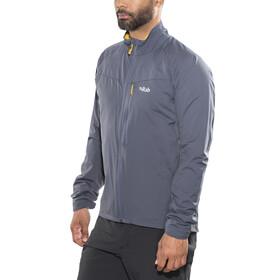 Rab Vapour-rise Flex Jacket - Chaqueta Hombre - gris